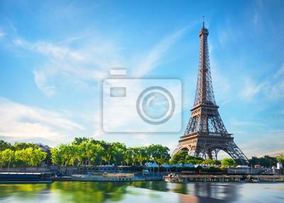 Plakat Sekwana w Paryżu