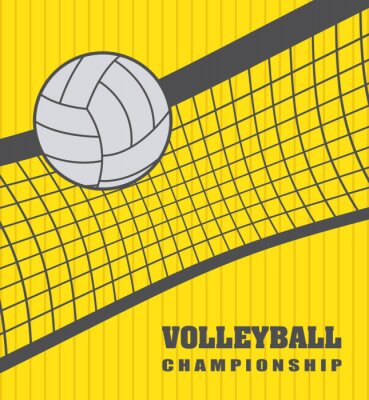 Plakat Siatkówka Ball