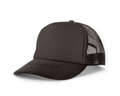 Plakat Side View Realistic Cap Mock Up In Rocky Granite Color is a high resolution hat mockup to help you present your designs or brand logo beautifully.
