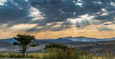 Plakat Skies of Africa