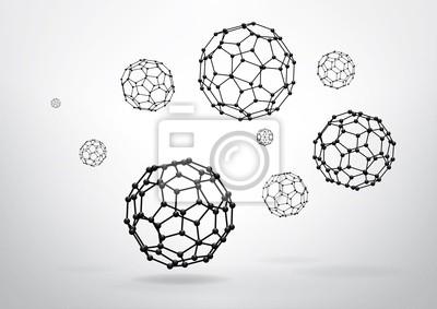 Skład elementów szkieletowych, obcięty Icosahedron
