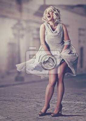 Plakat słodka Marilyn / Marilyn Monroe 01