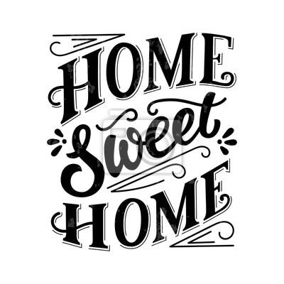 Plakat Słodki czarny atrament strony napis, vintage litery, odręczny typografii na białym tle z grunge tekstur. Ilustracji wektorowych.