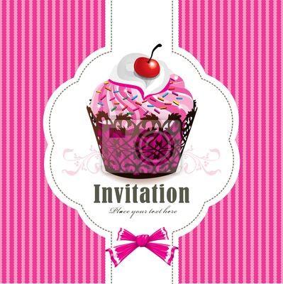 Plakat Słodkie ciastko projekt