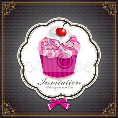 Słodkie cupcake z projektu zabytkowe