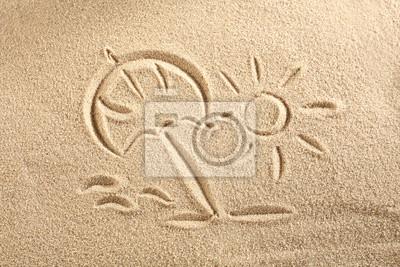 słońce na piasku