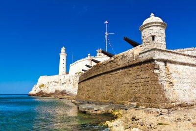 Plakat Słynny zamek El Morro w Hawanie