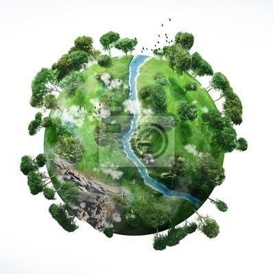Plakat Small Planet