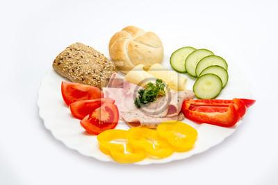 Sniadanie Naczynia Zdrowe Jedzenie Talerze Sniadaniowe Plakaty Redro