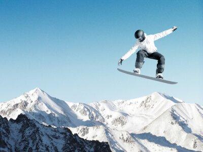Plakat Snowboard Sport