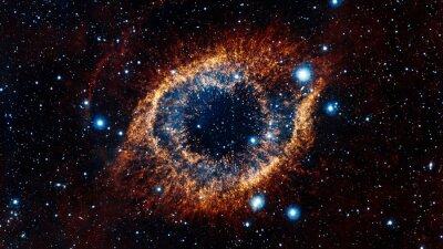 Plakat Space Nebula. Elementy tego zdjęcia dostarczone przez NASA