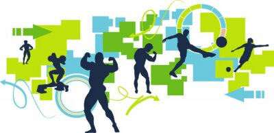 Plakat Sport