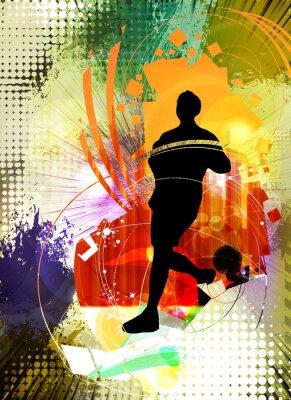 Plakat Sport ilustracji