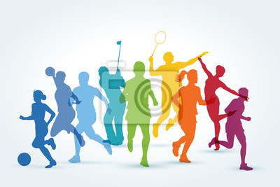 Plakat sports