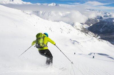 Plakat Sporty zimowe Narciarstwo