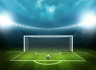 Plakat Stadion z piłki nożnej