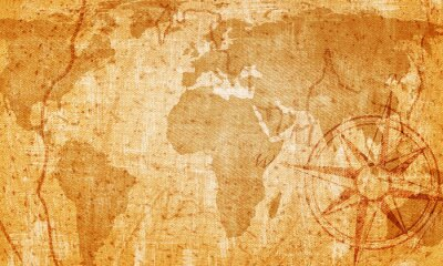 Plakat Stara mapa