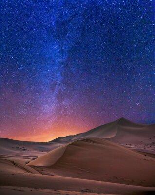 Plakat Stara noc na Saharze