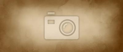 Plakat Stare brązowe tło papieru z akwarelą lub kawy plamy koloru w marmurkowej konstrukcji farby