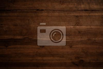 Plakat Stare grunge ciemne teksturowanej tle drewniane, Powierzchnia starego brązowego drewna tekstury