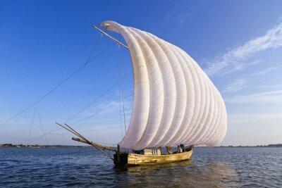 Plakat Stare łodzi rybackich