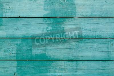 Plakat stare malowane drewniane deski
