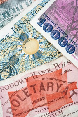 Stare Polskie Banknoty Plakaty Redro