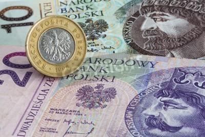 Stare Polskie Banknoty I Monety Złotowe Plakaty Redro