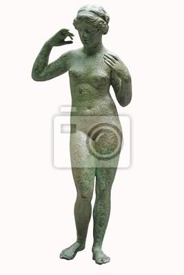 Plakat Starożytna brązu posąg Wenus