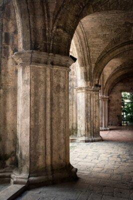 Plakat Starożytny hiszpański klasztor w Starej Hawanie