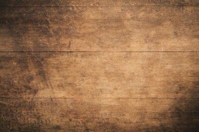 Plakat Stary grunge zmrok textured drewnianego tło powierzchnia stara brown drewniana tekstura, odgórnego widoku brown tekowy drewniany kasetonować