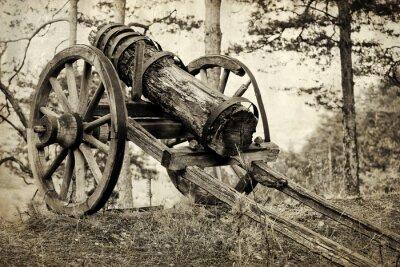 Plakat stary heavy gun 2