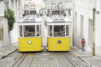 Plakat Stary tramwaj w Lizbonie