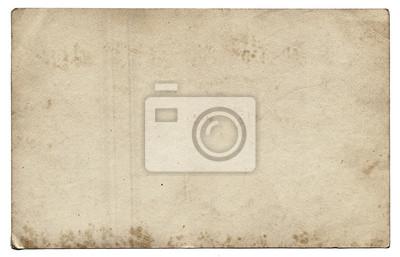 Plakat Starych papieru z plamy i zarysowania