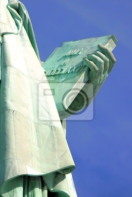 Statua Wolności Tablet w Nowym Jorku.