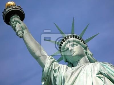 Statua Wolności w Nowym Jorku .