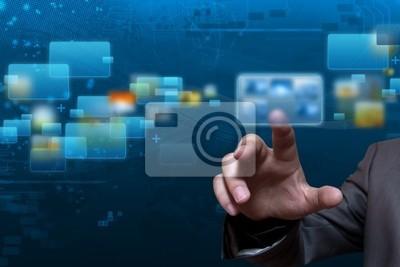 Plakat Streaming technologię ekranu