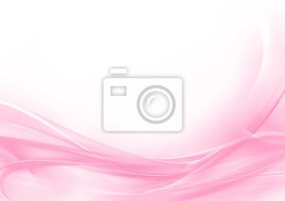 Plakat Streszczenie pastelowe różowe i białe tło