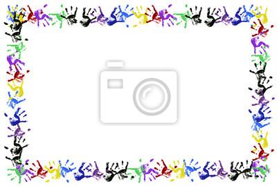 Strony Wydruku Kolorowe Ramki Dla Dzieci Plakaty Redro