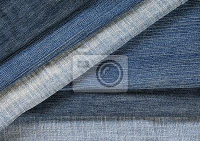 stylowy teksturowanej tle ramki z vaginalnym i poziome paski denim w różnych odcieniach