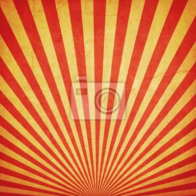 Plakat Sunburst tle retro grunge tekstury i duplikat