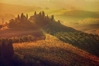Plakat Sunrise in Italy