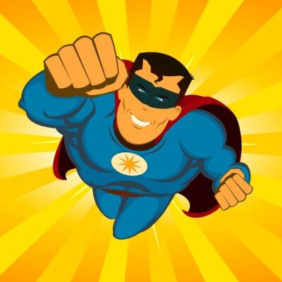 Plakat Superhero Latanie