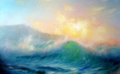 Plakat Surf Samym