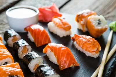 Plakat sushi