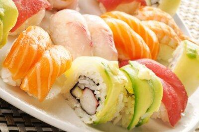 Plakat Sushi, close-up