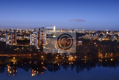 Światła w Sztokholmie