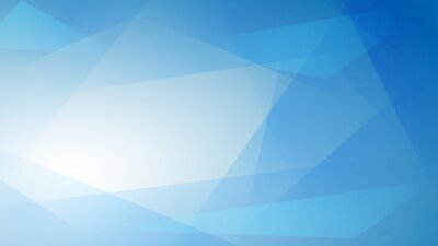 Plakat Światło niebieskie tło abstrakcyjne