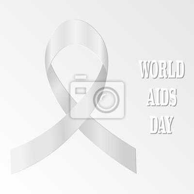 światowy Dzień Aids Znak Medyczny Ikon Wektorowych Plakaty Redro
