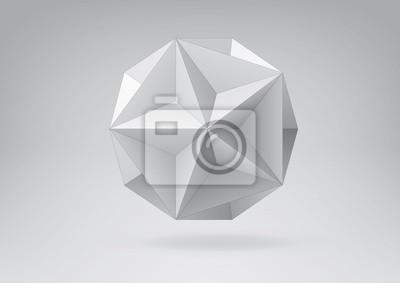 Świetne dodecahedron do projektowania graficznego